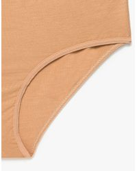 Baserange - Natural Classic Bell Pants In Sand - Lyst
