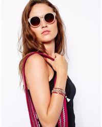 Lipsy - Red Tassel Friendship Multipack Bracelets - Lyst