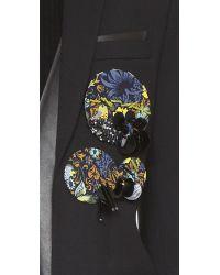 Marc By Marc Jacobs Embellished Badge Set - Gettysburg Blue Multi