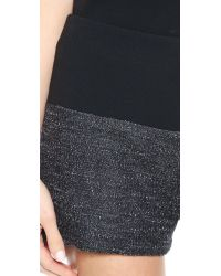 Rag & Bone - Kelly Shorts Black - Lyst