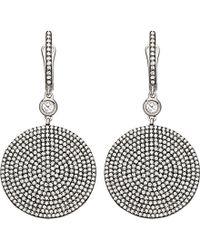 Astley Clarke   White Large Icon Earrings   Lyst