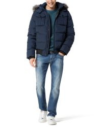 Tommy Hilfiger - Blue Darren Bomber Jacket for Men - Lyst