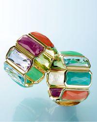 Ippolita | Metallic 18k Rock Candy Fancy Rectangle Lollipop Ring | Lyst