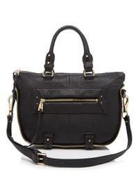 She + Lo | Black Rise Above Mini Satchel | Lyst