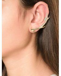 McQ - Metallic Antler Ear Cuff - Lyst