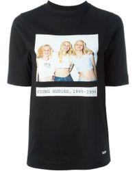 AALTO | Black Photo Print T-shirt | Lyst