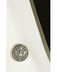 IRO White Calixa Crepe Tuxedo Jacket