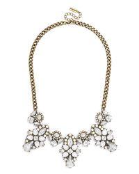 BaubleBar | White Swiss Edelweiss Collar | Lyst