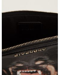 Givenchy Black Small Antigona Clutch for men