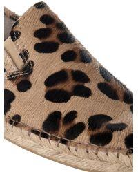 Prism - Natural Leopard Print Espadrilles - Lyst