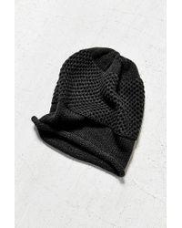 Lyst - BDG Oversize Slouch Beanie in Black 205881503d97
