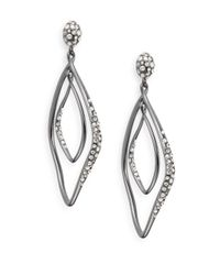 Alexis Bittar - Metallic Miss Havisham Swarovski Crystal Orbital Drop Earrings - Lyst