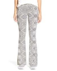 Rip Curl | Gray Moon River Printed Pants | Lyst