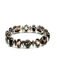 Alexis Bittar | Metallic Smoky Gold Marquis Tennis Bracelet You Might Also Like | Lyst