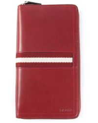 Bally - Red 'Tevin' Wallet for Men - Lyst