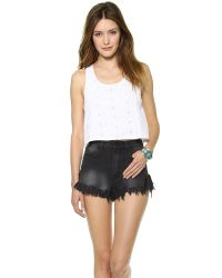 House of Harlow 1960 - White Sunny Tank Top  - Lyst