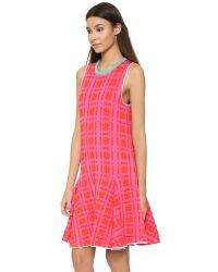 Issa - Pink Silvia Dress - Watermelon - Lyst
