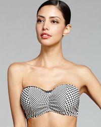 Blush By Profile   White Brigitte Underwire Removable Tie D, E And F Cup Bikini Top   Lyst