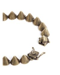 Eddie Borgo - Metallic Small Cone Bracelet for Men - Lyst
