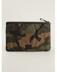 Valentino | Green Camouflage Clutch for Men | Lyst
