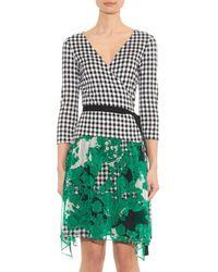 Diane von Furstenberg - Green Riviera Dress - Lyst