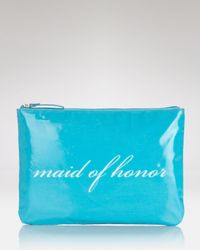 kate spade new york - Blue Cosmetics Case Maid Of Honor Wedding Belles - Lyst