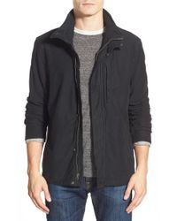 James Perse | Black Utility Jacket for Men | Lyst