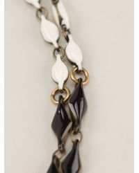 Isabel Marant - Black Kimpatsu Double Necklace - Lyst