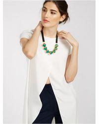 BaubleBar - Green Florence Collar - Lyst