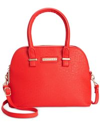 Rampage | Red Mini Satchel Crossbody | Lyst