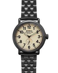 Shinola | Metallic 41Mm Runwell Chain Watch | Lyst