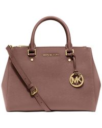 Michael Kors | Pink Michael Sutton Medium Satchel | Lyst