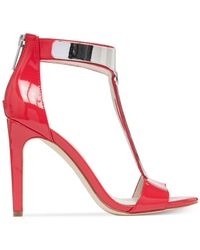 BCBGeneration - Red Cypria Patent Dress Sandals (only At Macy's) - Lyst