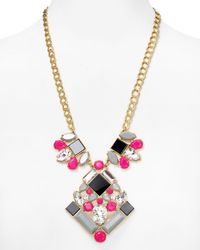 "kate spade new york - Multicolor Metropolis Mosaic Statement Pendant Necklace, 22"" - Bloomingdale's Exclusive - Lyst"