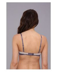 Calvin Klein Blue Perfectly Fit Sexy Signature Unlined Underwire Bra