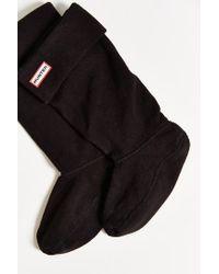 Hunter | Black Tall Boot Sock | Lyst