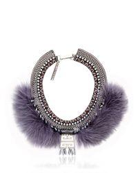 Fiona Paxton Gray Crazie Mazie Necklace