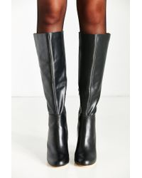 Urban Outfitters | Black Rita Tall Heeled Boot | Lyst