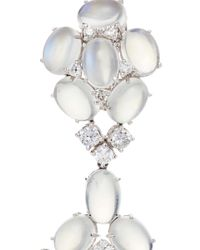 Nina Runsdorf | Metallic Moonstone Cabachon Earrings | Lyst