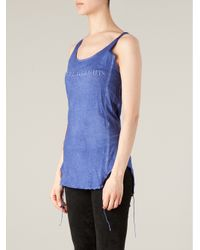 BLK OPM - Blue Impure Thoughts Tank Top - Lyst