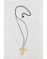 Urban Outfitters Metallic Harot Pendant Necklace