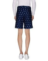 Band of Outsiders - Blue Bermuda Shorts for Men - Lyst