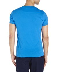 DIESEL - Blue Only The Brave Tee for Men - Lyst