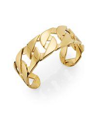 CC SKYE - Metallic Yacht Link Cuff Bracelet - Lyst