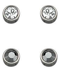 Swarovski - Metallic Harley Earring Set - Lyst