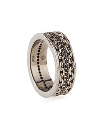 Stephen Webster - Metallic Men's Silver Sapphire Ring for Men - Lyst