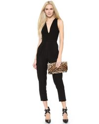 Lovers + Friends - Riley Jumpsuit - Black - Lyst