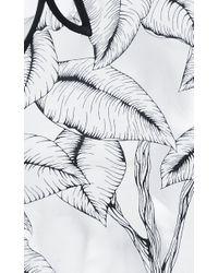 Thakoon - Gray Floral Appliqué Bodysuit - Lyst