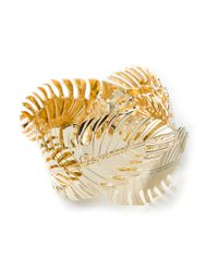 DSquared² - Orange Palm Leaf Bracelet - Lyst