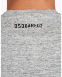 DSquared² | Gray Chic Dan Fit T-shirt for Men | Lyst
